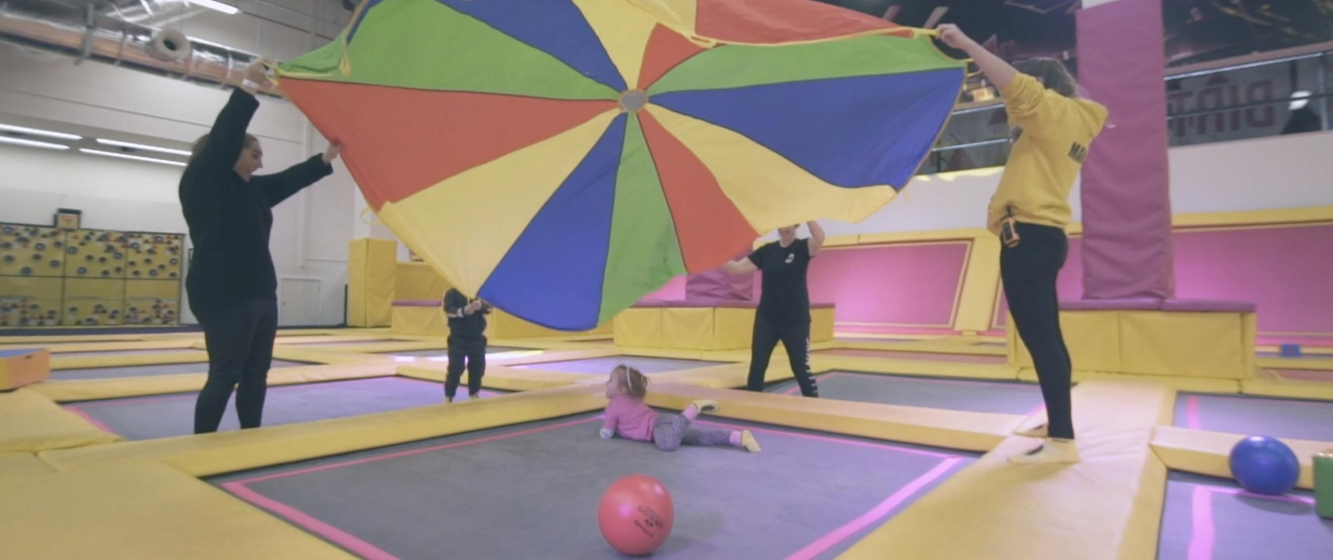 Boost Minis & Family explore under 5's sessions.